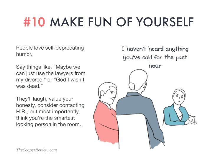Sarah Cooper, 10 Tricks To Appear Smart In Meetings